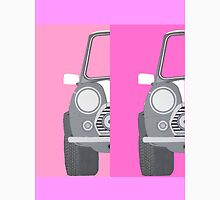 MINI COOPER IN PINK Womens Fitted T-Shirt
