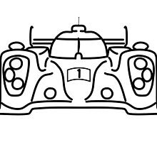 Toyota TS040 Front by kmccornick