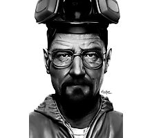 Walter White - Breaking Bad Photographic Print