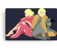 The Maid of Tarth Canvas Print