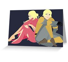 The Maid of Tarth Greeting Card