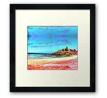 Playa Cerritos Framed Print