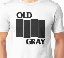old gray/black flag t-shirt emo Unisex T-Shirt