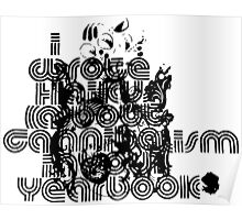 I wrote haikus about cannibalism in your yearbook t-shirt skramz screamo Poster