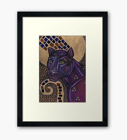 Icon II: The Panther Framed Print