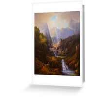 Rivendell,The Last Homely House. Greeting Card