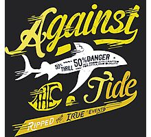 Against the Tide Photographic Print
