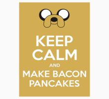 Make Bacon Pancakes Sticker by amaimoose