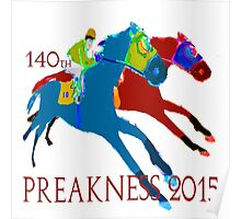 140th Preakness 2015 Poster