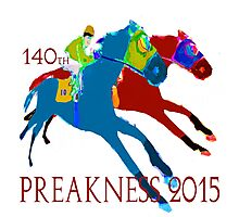 140th Preakness 2015 Photographic Print