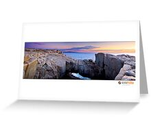 Albanys Natural Bridge Greeting Card