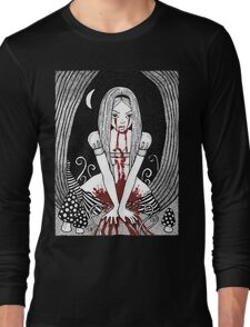 Blood Red Alice Tee Long Sleeve T-Shirt