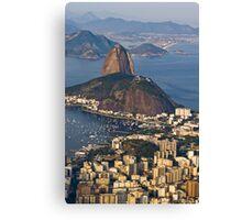 Sugarloaf Mountain, Rio De Janeiro, Brasil Canvas Print