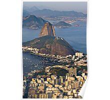 Sugarloaf Mountain, Rio De Janeiro, Brasil Poster