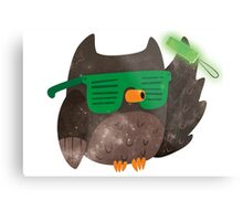 Just Don't Give A Hoot! Metal Print