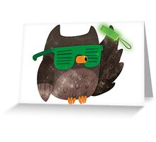 Just Don't Give A Hoot! Greeting Card