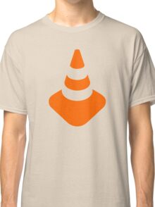 Traffic cone safety pylon Whitch hat marker Classic T-Shirt