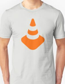 Traffic cone safety pylon Whitch hat marker T-Shirt
