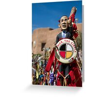 Yes, We Can (Honor the Circle) Greeting Card
