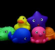 Bubble Bath Friends by jerry  alcantara