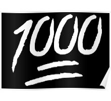 1000 Poster