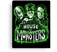 House of Monsters Canvas Print