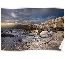 Faraya Mzaar Mountains, Lebanon Poster