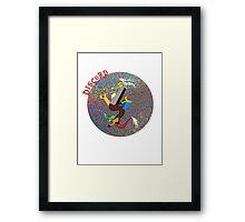 DiscordGlitter Framed Print