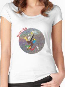 DiscordGlitter Women's Fitted Scoop T-Shirt