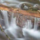 Below Horsetail Falls by Christopher  Boswell