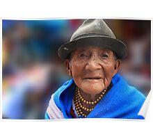 Elder Quechua Poster