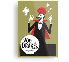 Von Drakes Magic Shop Metal Print