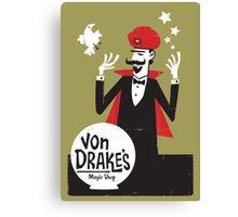 Von Drakes Magic Shop Canvas Print
