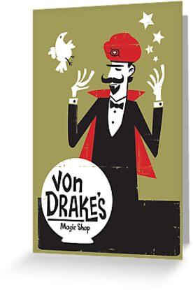 Von Drakes Magic Shop by TheFrase