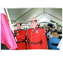 Royal Canadian Mounted Police at Eurofest 2009 Poster