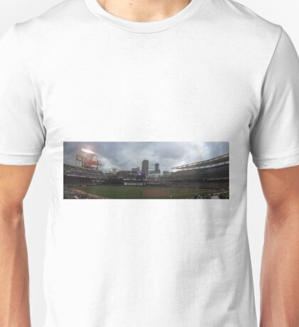 Target Field Skyline - Minnesota Twins Unisex T-Shirt
