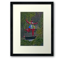 Fanciful Figure Framed Print
