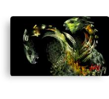 Paper Dragons Canvas Print