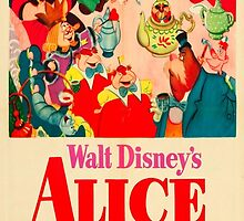 Alice In Wonderland Poster by ReallityArtwork