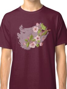 Colored Sketch of Sakura Branch 3 Classic T-Shirt