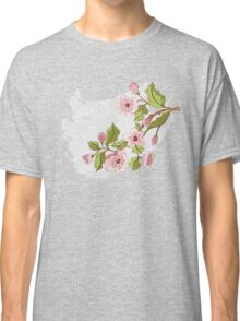 Colored Sketch of Sakura Branch 3 Classic T-Shirt