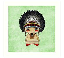 A Boy - Native American Art Print