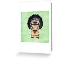 A Boy - Native American Greeting Card