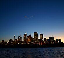 Sydney skyline by Jesper Høgsdal