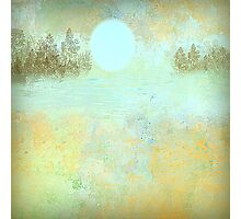 Moon's Glow in Earth Tones Photographic Print