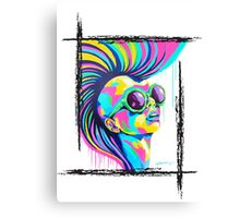 PUNKED Canvas Print