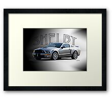 2009 Ford Mustang 'by Shelby' Framed Print