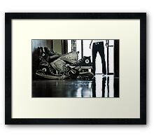 Lifes Simple Choices, What Chuck Ts? Framed Print