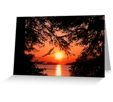 Sunrise Mountain Greeting Card