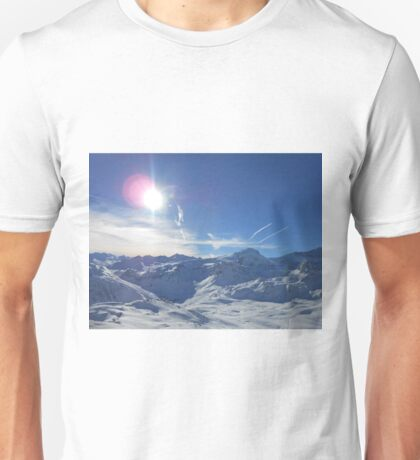 Beautiful Sky Over Mountain Unisex T-Shirt